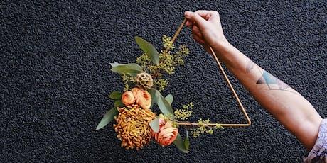 Modern Hoop Wreaths tickets