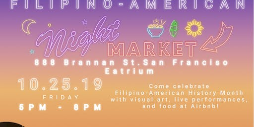 Asians@ Airbnb Present: AirBayanihan: Filipino Night Market
