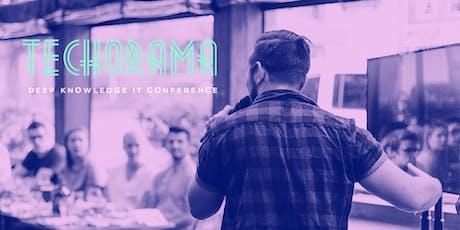 Techorama 2019 Café tickets