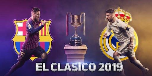 El Clasico  2019                  Real Madrid vs Barcelona