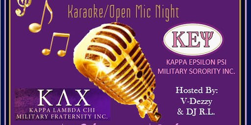 Tuesday Night Live Karaoke/Open Mic-Military Edition