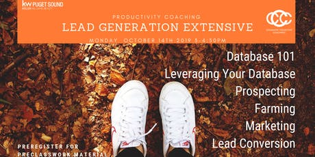 KWPS Productivity Coaching Lead Generation Extensive tickets
