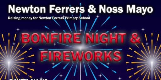 Bonfire Night and Fireworks in Noss Mayo and Newton Ferrers