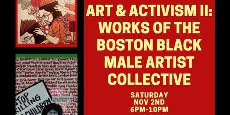 Black Male Artist Collective Pop Up Show tickets