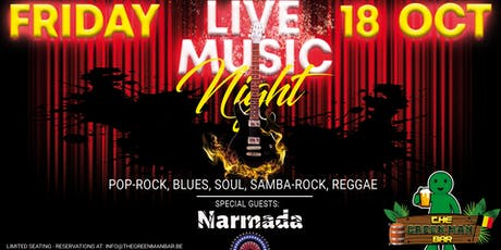 Live Music Night with Narmada next to The Grand Place Brussels billets