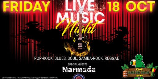 Live Music Night with Narmada next to The Grand Place Brussels