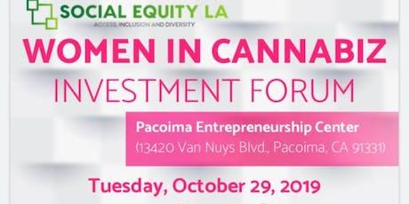 Women In Cannabiz - Investment Forum tickets
