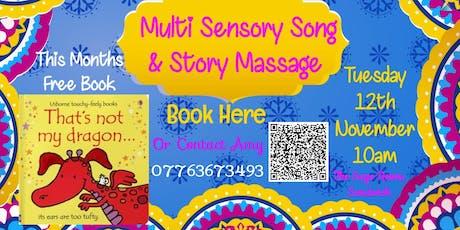 Multi Sensory Song & Story Massage tickets