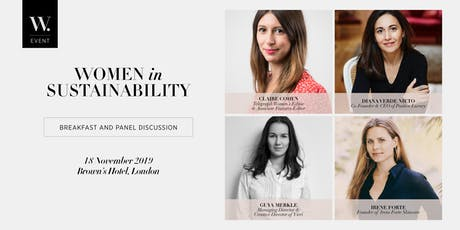 Women in Sustainability, in association with Brown's Hotel and Telegraph Women tickets