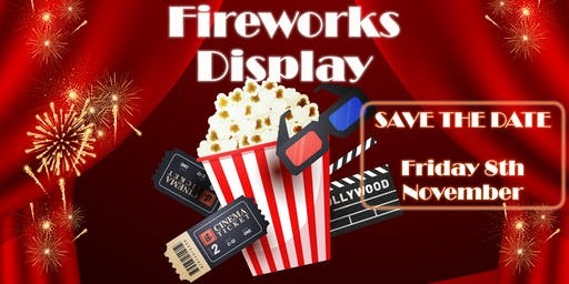 St Nicolas School Fireworks Display: Night at the Movies!