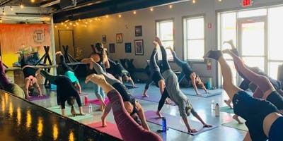 Yoga and a Beer with Amy Bourque
