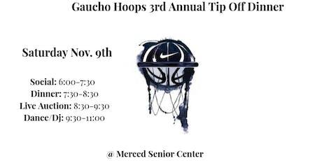 El Capitan Basketball 3rd Annual Tip-Off Dinner (Sat. Nov.9th)  tickets