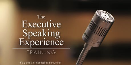 Executive Speaking Experience tickets