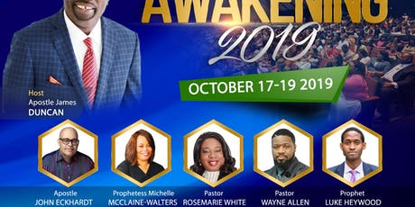 CCI Awakening Conference 2019 tickets