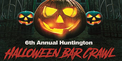 Huntington Halloween Bar Crawl 11/2/2019
