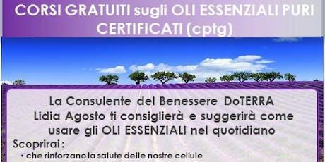 Roma Corso Gratuito sugli Oli Essenziali biglietti