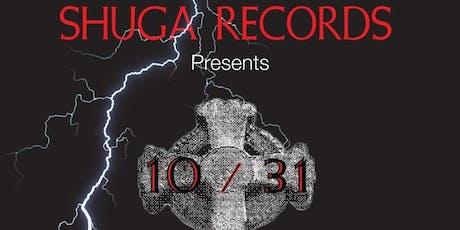 Shuga Records Halloween Dance Party w/Garrett David (Free Admission)! tickets