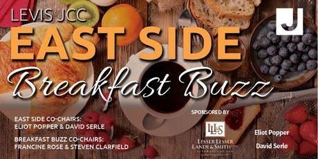Levis JCC East Side: Breakfast Buzz - Wednesday, November 13th tickets