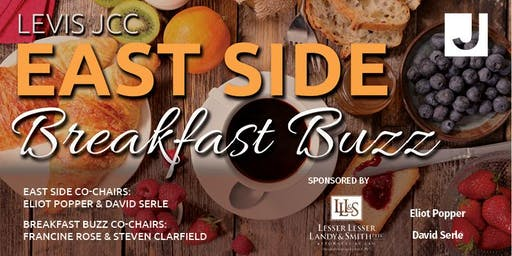 Levis JCC East Side: Breakfast Buzz - Wednesday, November 13th