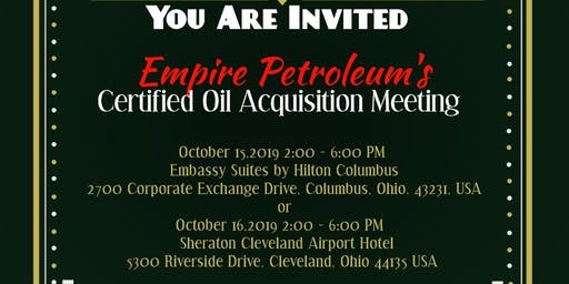 Empire Petroleum's Certified Oil Meetings
