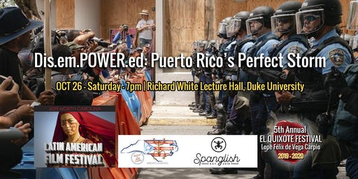 DisemPOWERed: Puerto Rico's Perfect Storm NCLAFF