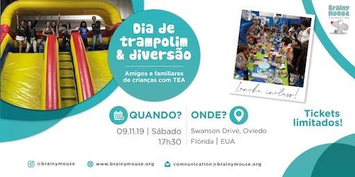 DIA DE TRAMPOLIM  &  DIVERSÃO (Amigos e familIares de crianças no TEA)