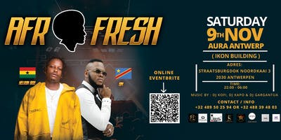 AFRO-FRESH (INDOOR PARTY, FIRST EDITION 2019)