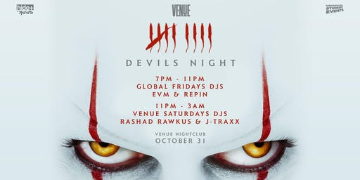 Official Halloween Party at VENUE!