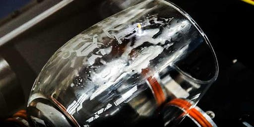 Etching Wine Glasses Workshop- A hands on laser engraving experience