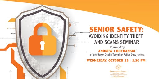 Senior Safety: Avoiding Identity Theft & Scams