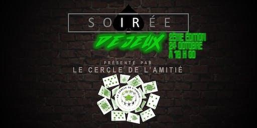 Soirée de jeux francophone - 2e édition