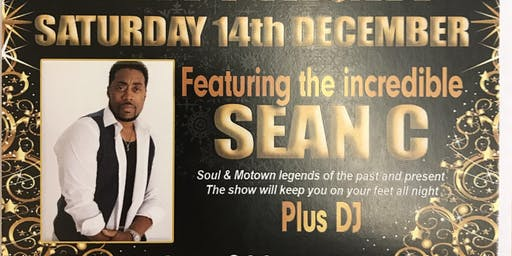 Christmas cabaret night with Sean C  singing soul and Motown