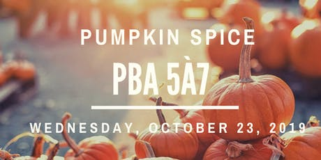 Paul Benwell & Associates Pumpkin Spice 5à7 Investor Networking Cocktail tickets