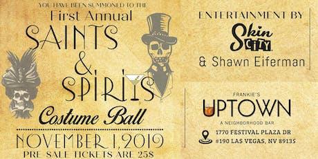 First Annual Saints & Spirits Costume Ball tickets