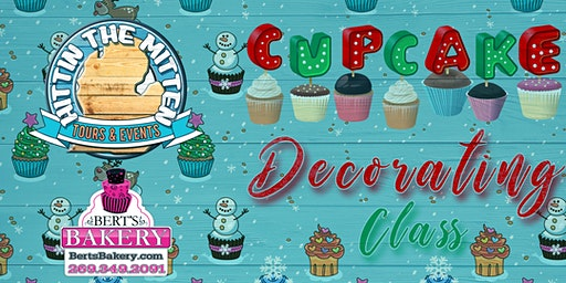 Winter Cupcake Decorating Class 2