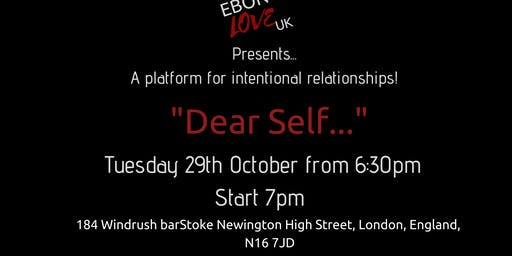 Dear self...