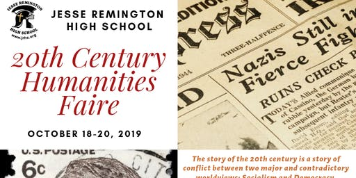 JRHS Presents: 20th Century Humanities Faire