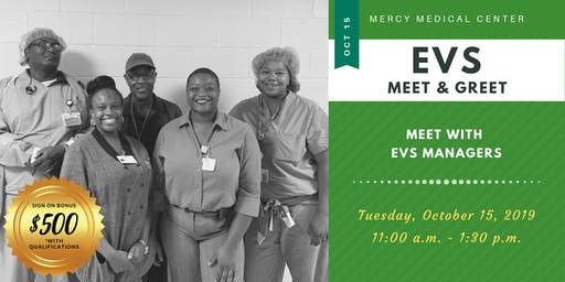Mercy Medical Center- EVS Interview Event