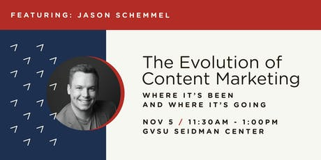 The Evolution of Content Marketing: Where It's Been & Where It's Going  tickets