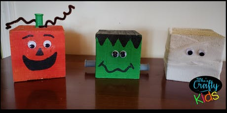 Who's Crafty Kids - Monster Blocks - Anchor Inn tickets