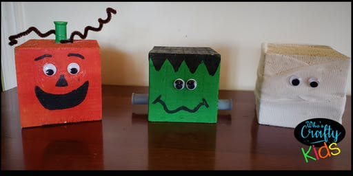 Who's Crafty Kids - Monster Blocks - Anchor Inn