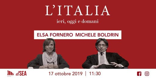 L'Italia: ieri, oggi e domani