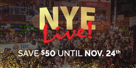 NYE Live! 2020: Philadelphia's New Year's Eve Party at Xfinity Live! tickets