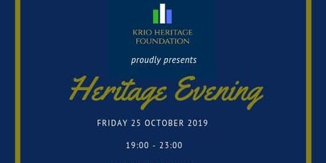 Krio Heritage Foundation Proudly Presents Heritage Evening tickets