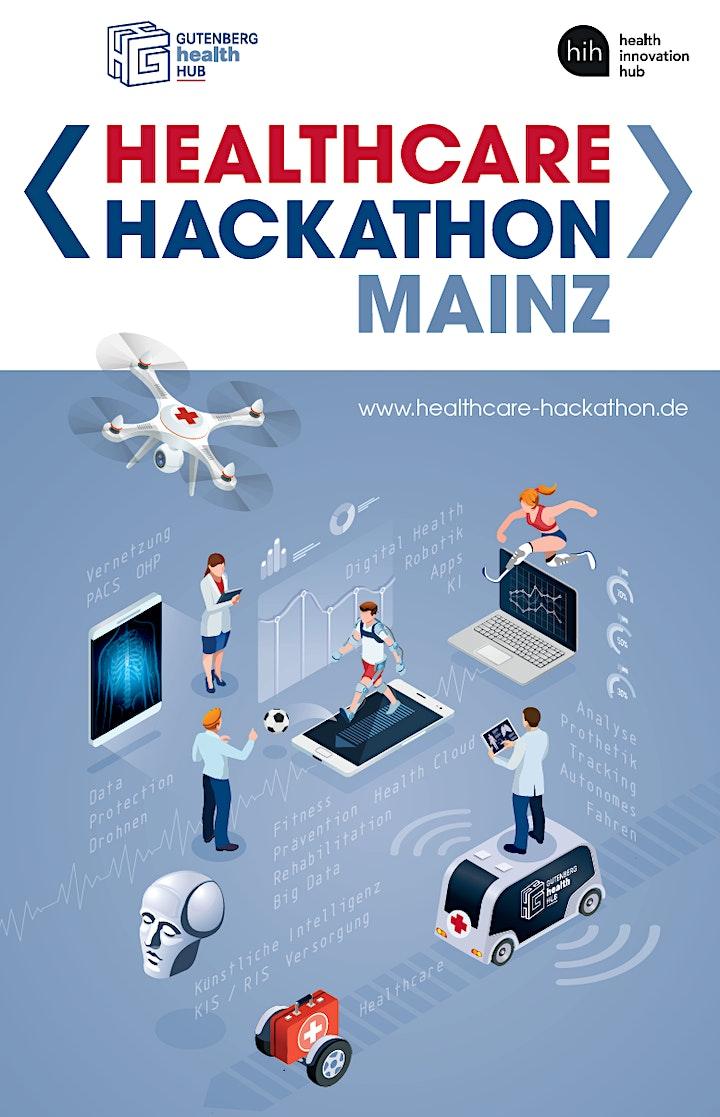 Healthcare Hackathon Mainz Online 21.06. - 22.06.: Bild