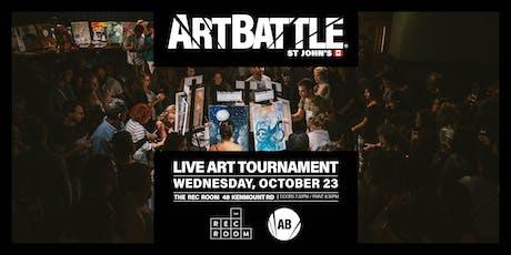 Art Battle St. John's - October 23, 2019 tickets