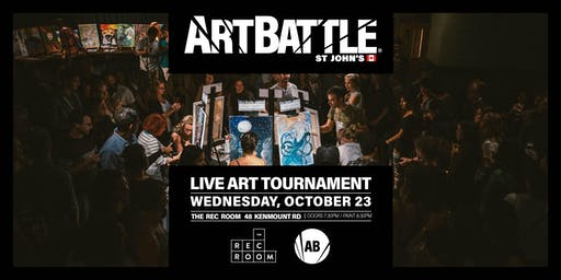 Art Battle St. John's - October 23, 2019