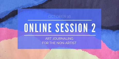 Explore Art Journaling - Online Workshop 2 of 5 biglietti