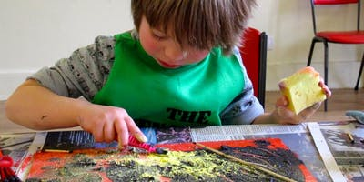 Mini Menagerie / Preschool art workshops / PM
