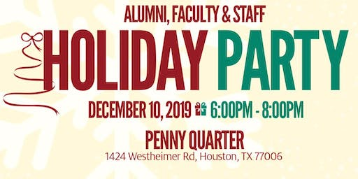UH Hines College of Architecture and Design Holiday Party
